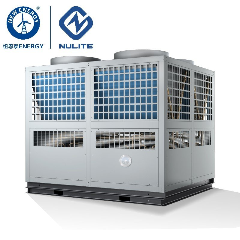 NULITE 125KW EVI heat pump for heating cooling model NERS-G40KD Chiller Heat Pump image21