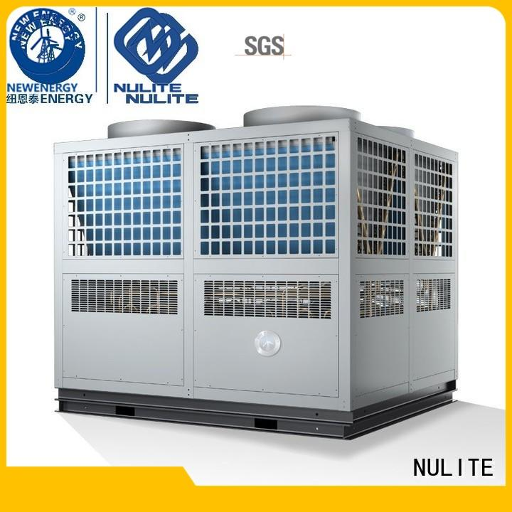 Hot heat pump chiller hospital NULITE Brand