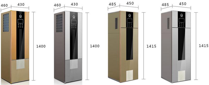 NULITE-Quality 51kw 70degre Household Water Heater Floor standing Heat Pump