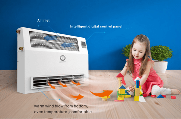NULITE floor standing floor fan coil custom for family-1
