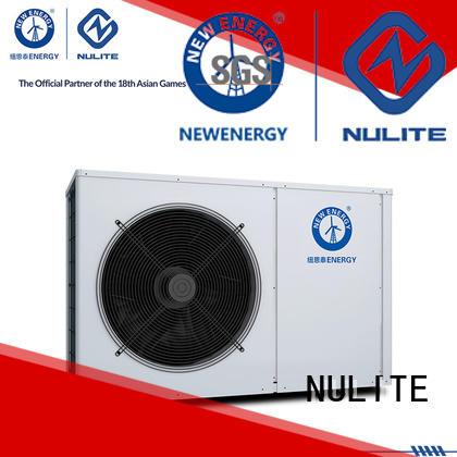 super performance portable heat pump hot water for workshop NULITE