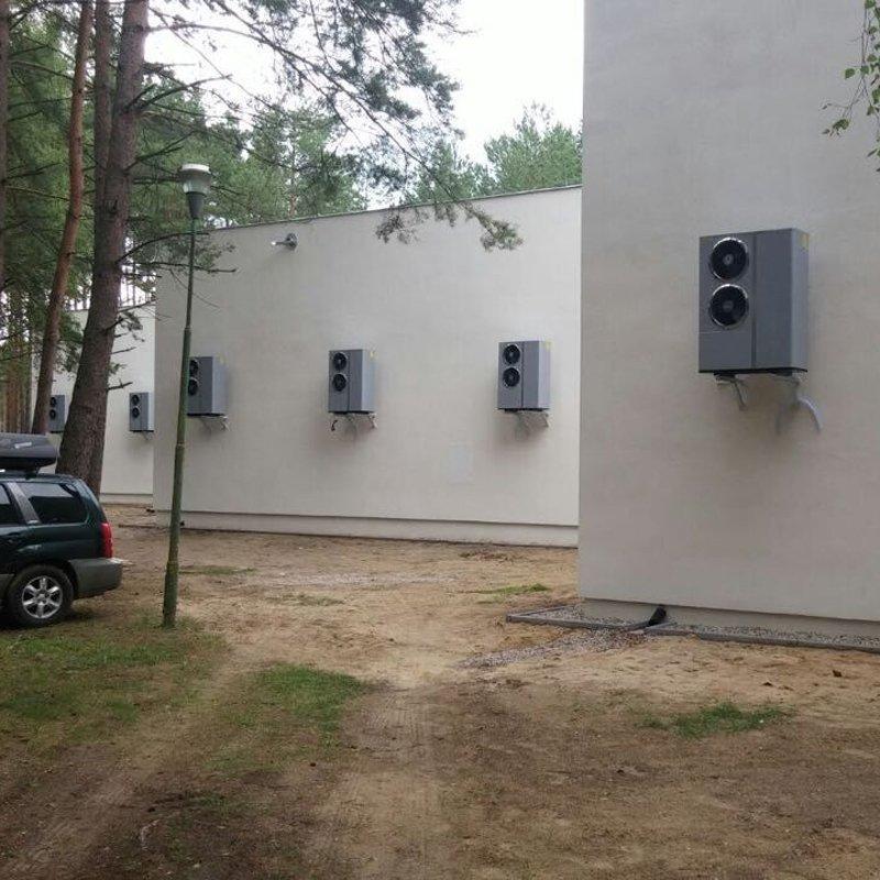 30 pcs inverter fast heating heat pump 7.5kw