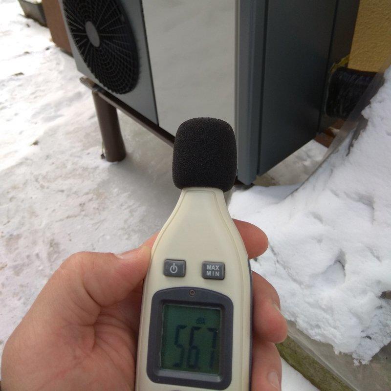 Inverter Monobloc Heat Pump installed in Lithuania