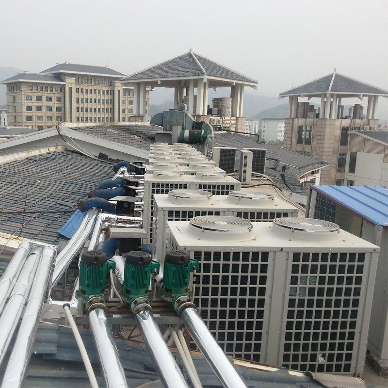 2600 square floor heating in Chizhou East to Hongqing Building