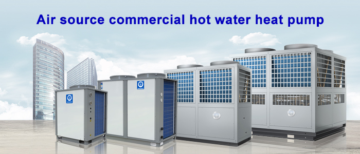 NULITE-140kw Commercial Use Hot Water Supply Model Ners-g40b | Air Source Heat