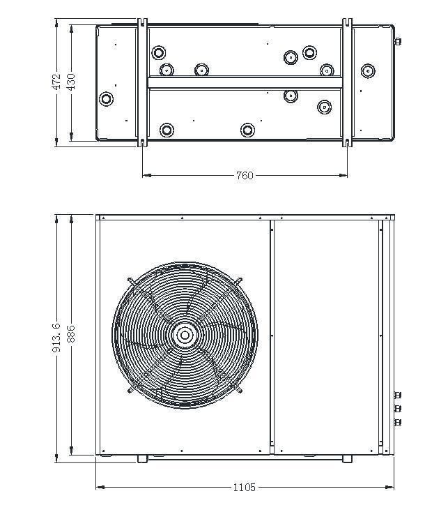 heater split dc powered heat pump NULITE manufacture