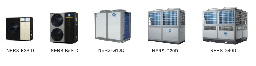 NULITE-25c Work 187kw Mono Block Evi Air Source Heat Pump Water Heater Model