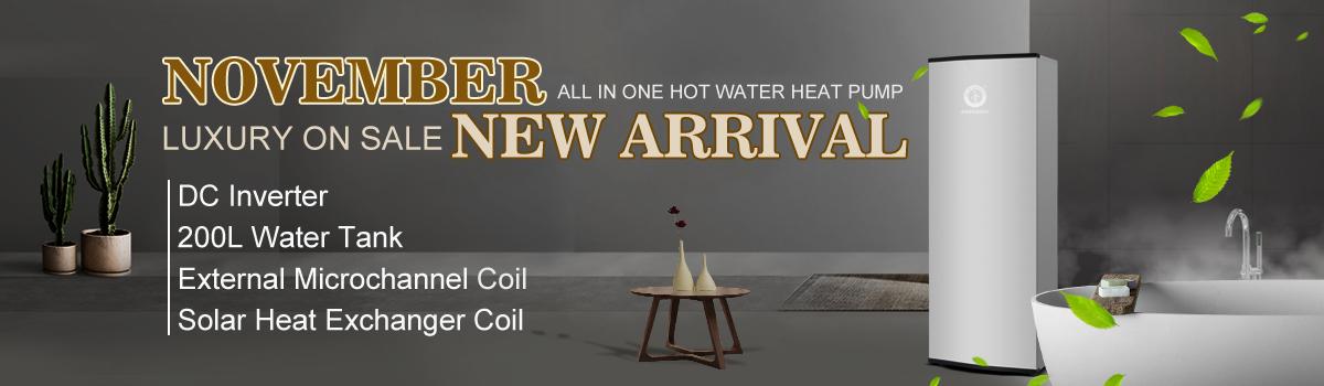 NULITE-Hybrid Heat Pump Manufacture | 8kw 200l Dc Inverter All In One Heat Pump