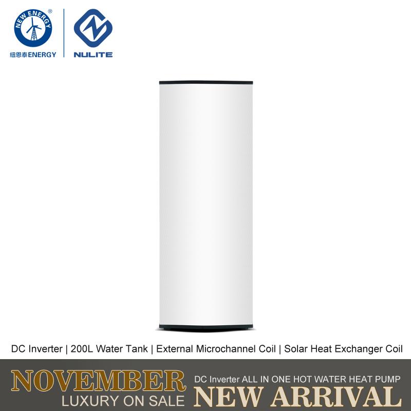 NULITE-Hybrid Heat Pump Manufacture | 8kw 200l Dc Inverter All In One Heat Pump-1