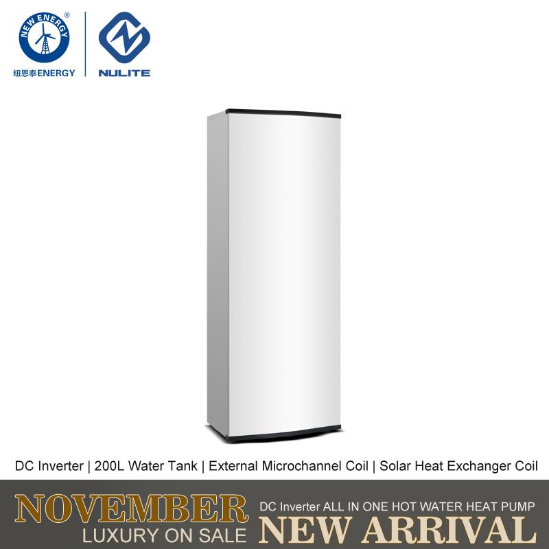 NULITE-Hybrid Heat Pump Manufacture | 8kw 200l Dc Inverter All In One Heat Pump-2