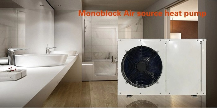 NULITE-Commercial Heat Pump, 3 Kw B Series Air To Water South Africa Shower Hot