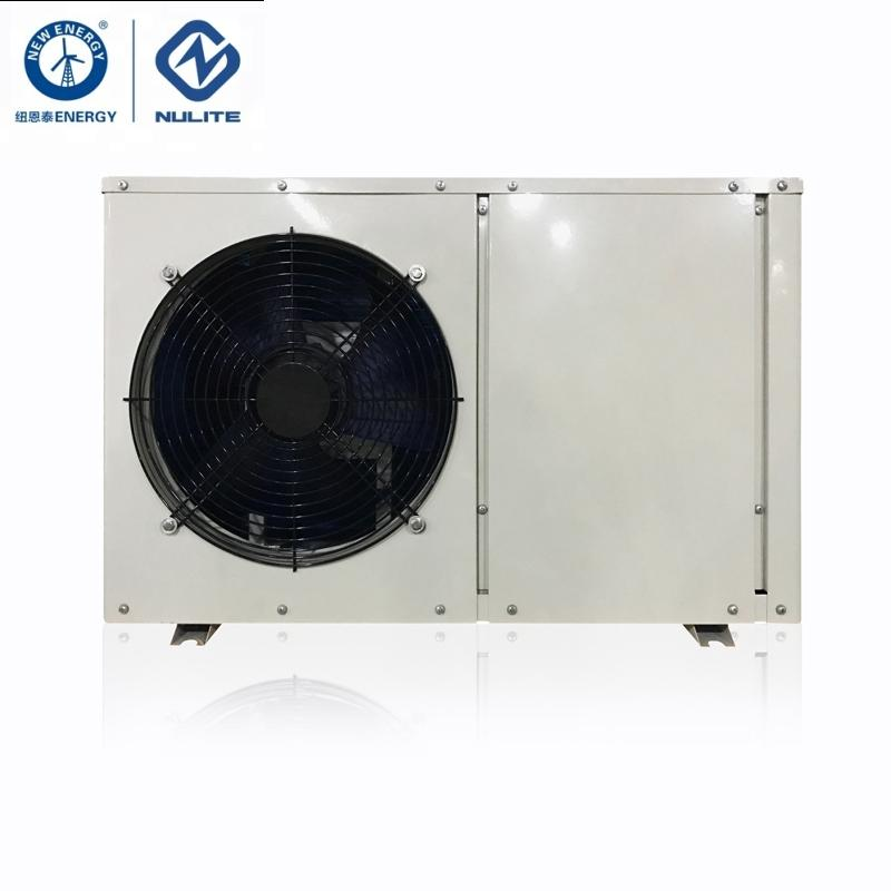10KW Mini Air To Water Heat Pump Water Heater With Water Pump