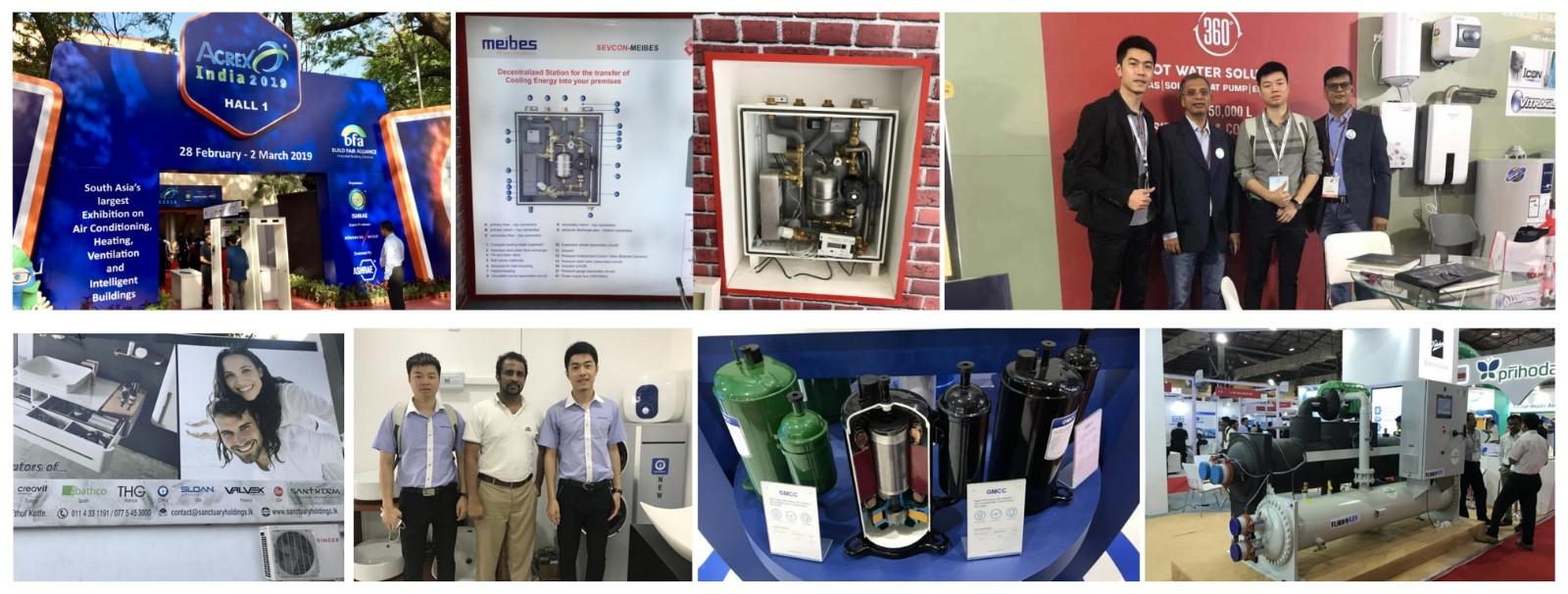 NULITE-Domestic Air Source Heat Pump-nulite New Energy Heat Pumps At India Acrex 2019-2