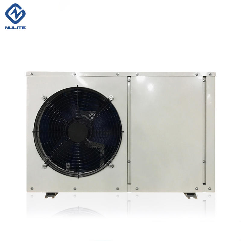 7KW Mini Air To Water Heat Pump Water Heater With Water pump