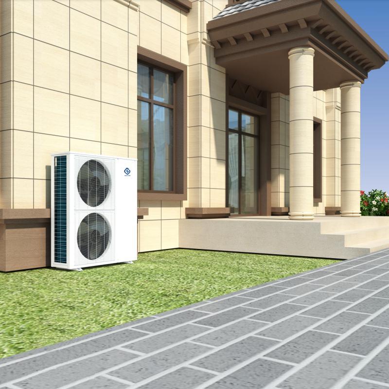 product-DC Inverter All In One 10KW NE-C3BZ-B2F Heat Pump Water HeaterHeating Cooling-NULITE-img-2