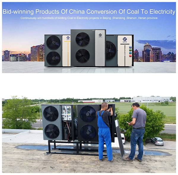 product-DC Inverter All In One 10KW NE-C3BZ-B2F Heat Pump Water HeaterHeating Cooling-NULITE-img-4