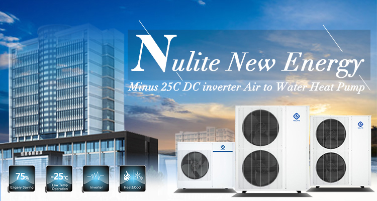 product-DC Inverter All In One 30KW NE-C8BZ-B2FIIF Heat Pump Water HeaterHeating Cooling-NULITE-img
