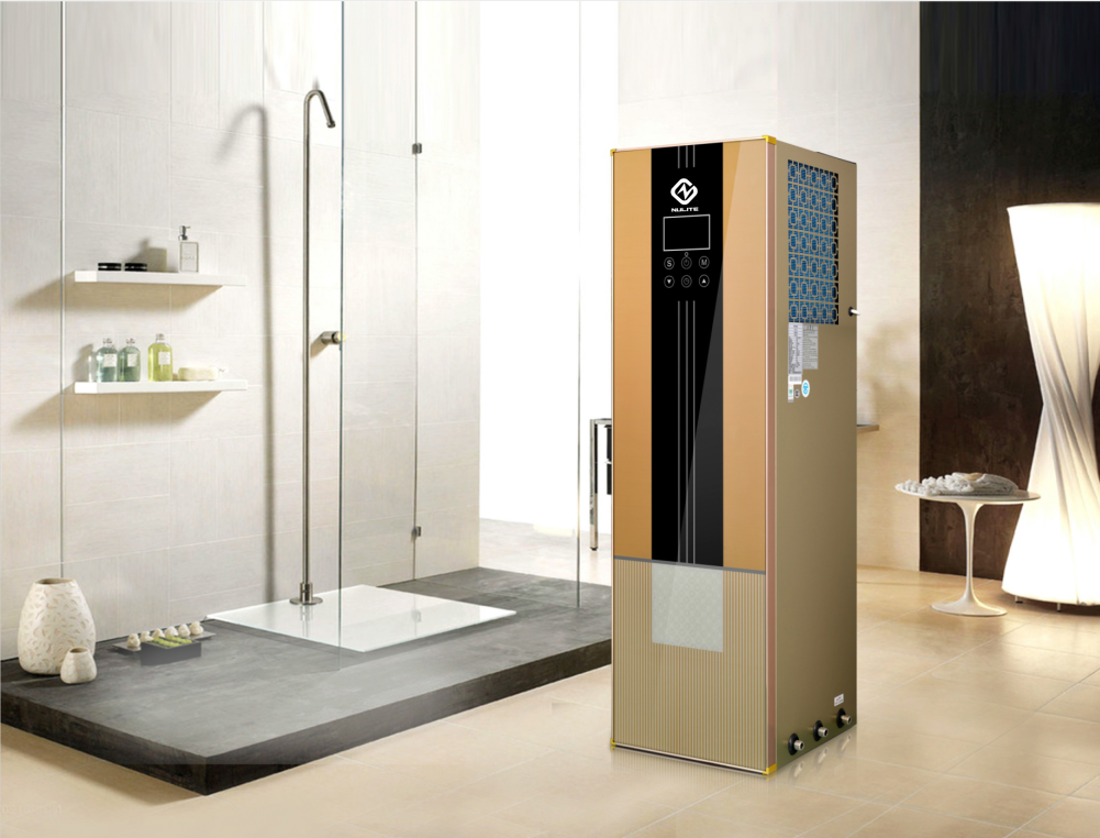 product-51KW 70degre household water heater floorstanding 220L all in one heat pump-NULITE-img