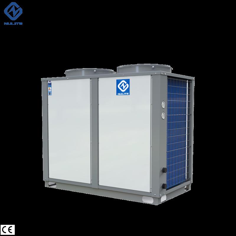 -25c work 38.5kw mono block EVI Air Source Heat Pump water heater model NERS-G10D