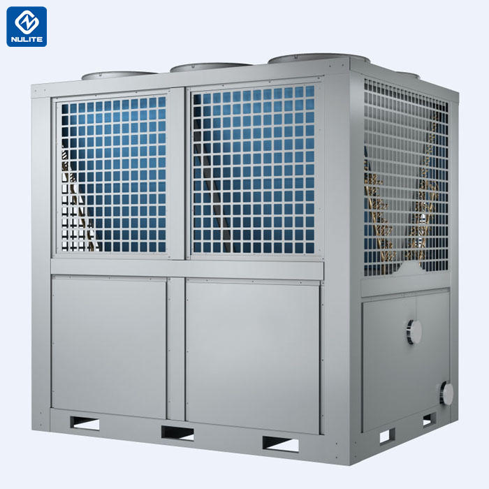 -25c work 181.7kw mono block EVI Air Source Heat Pump water heater model NERS-G52D