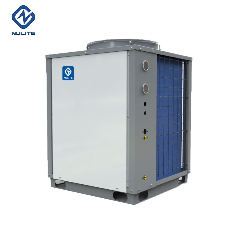 38kW air to water hot water heat pump for hotel model NERS-G10B