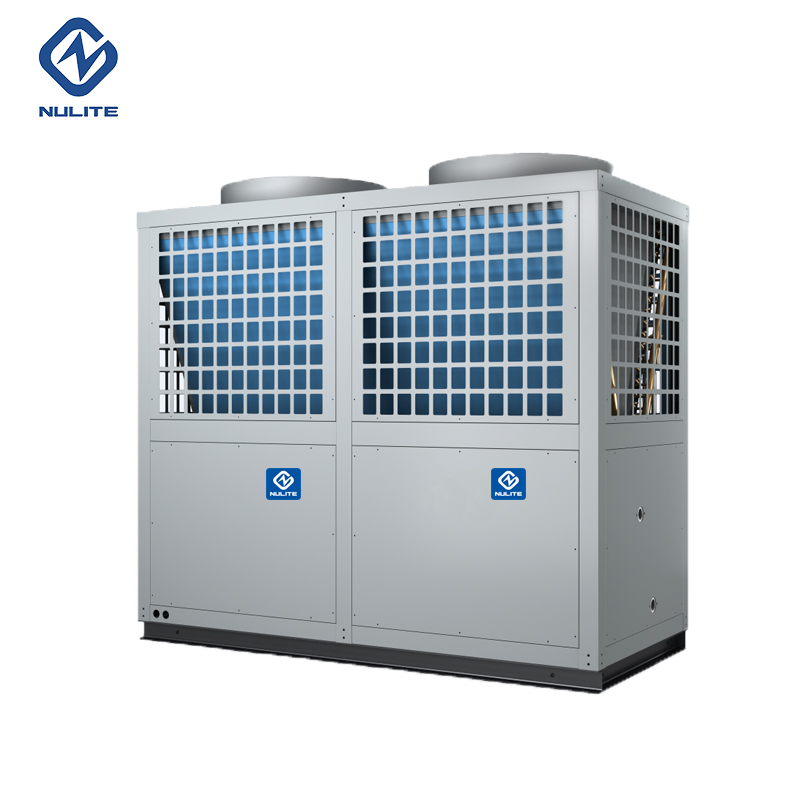 125KW EVI heat pump for heating cooling model NERS-G40KD
