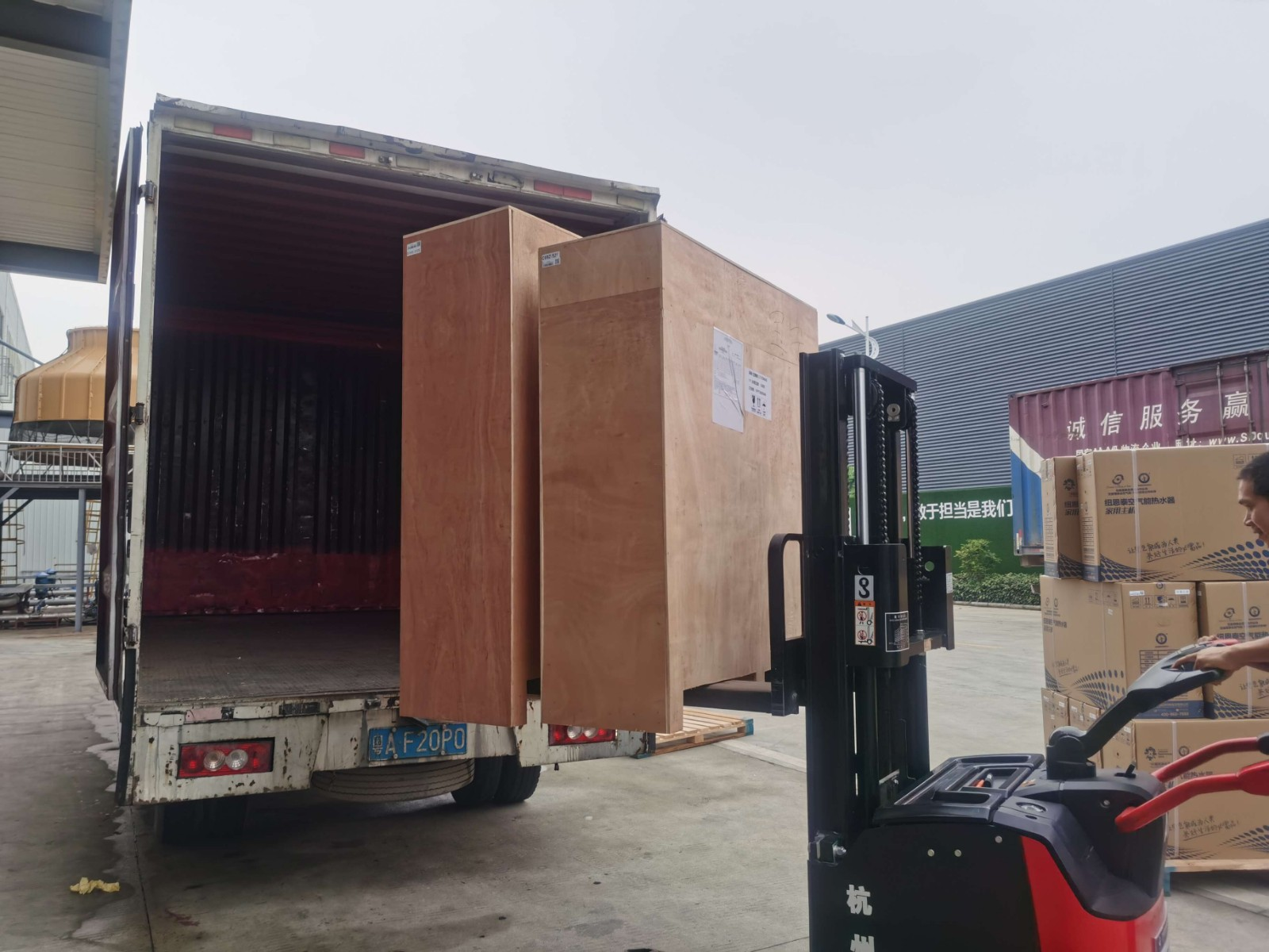 news-NULITE-2,800 Pieces Air Source Heat Pumps Delivery-img-1