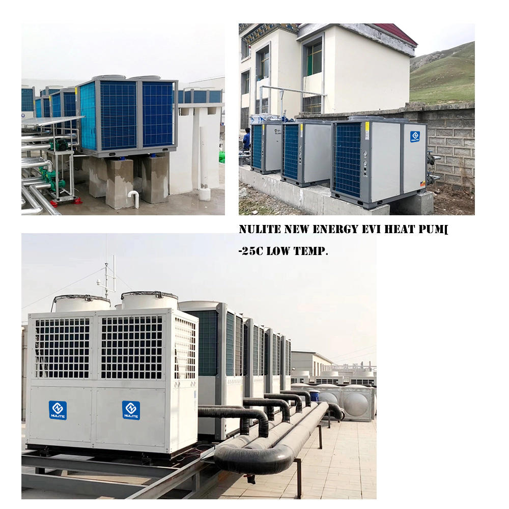 Evergrande Real Estate Group multi-site project air source heat pump hot water supporting project