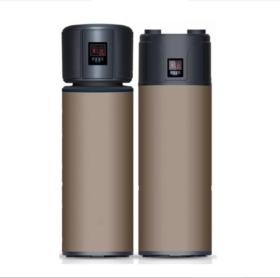 product-Household All In One Enamel tank 200L 18KW 300L 3KW Heat Pump-NULITE-img
