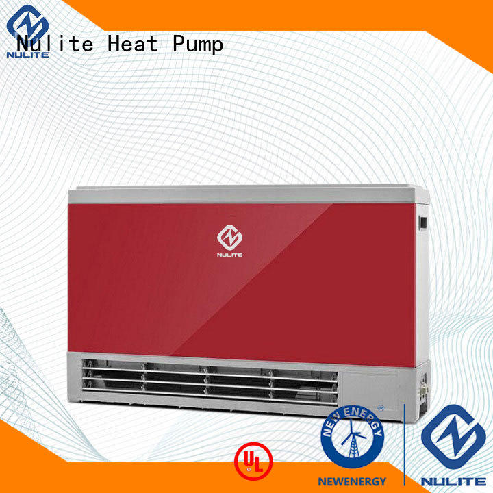 durable fan coil unit system floor heating custom for workshop