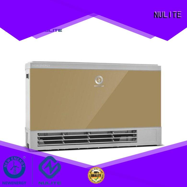 floor energy fan coil heating coil NULITE company