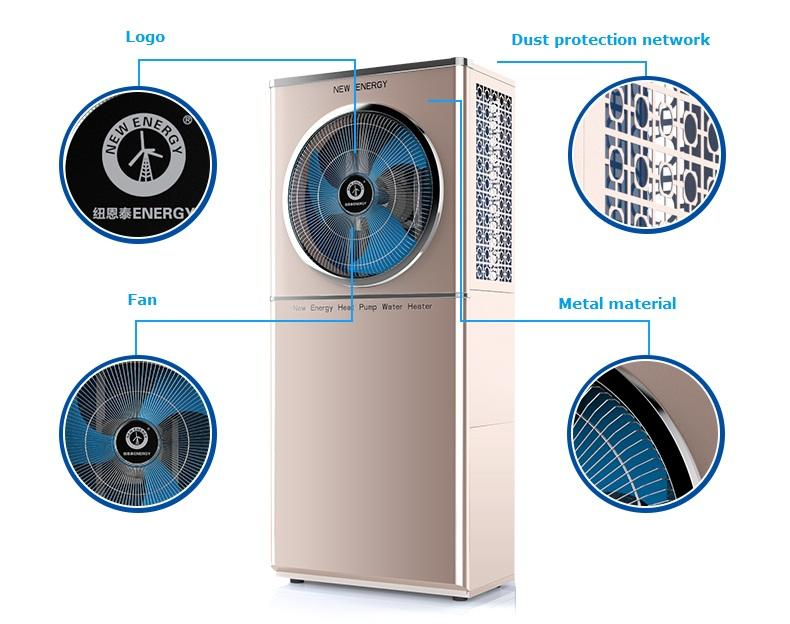 NULITE-High-quality 65~15kw Dc Inverter All In One Heat Pump For Dhw Model Ne-b23580p-1
