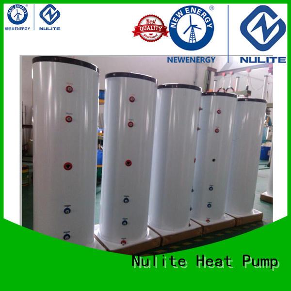 NULITE heat pump water system pressure tank energy-saving for floor heating