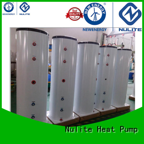 NULITE heat pump water system pressure tank energy-saving for floor heating