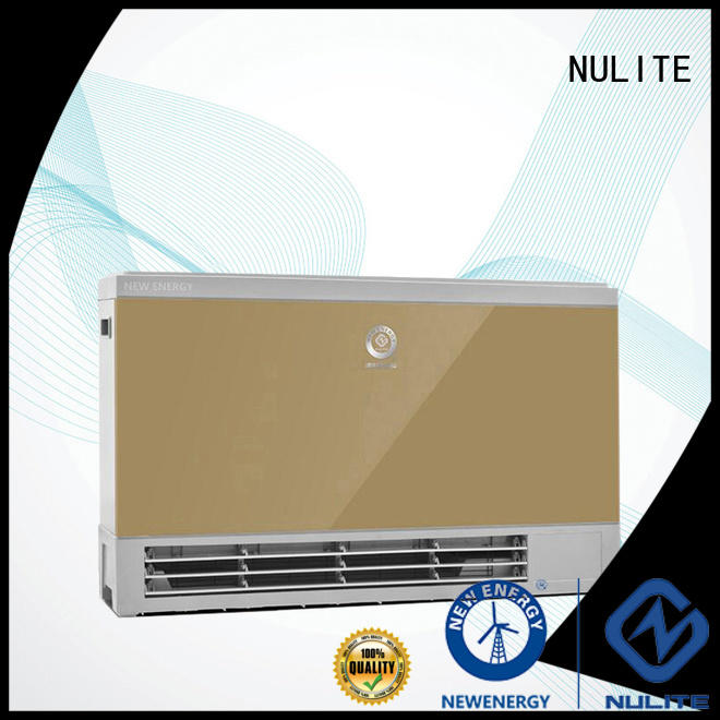 NULITE durable wall mounted fan coil unit best supplier for workshop