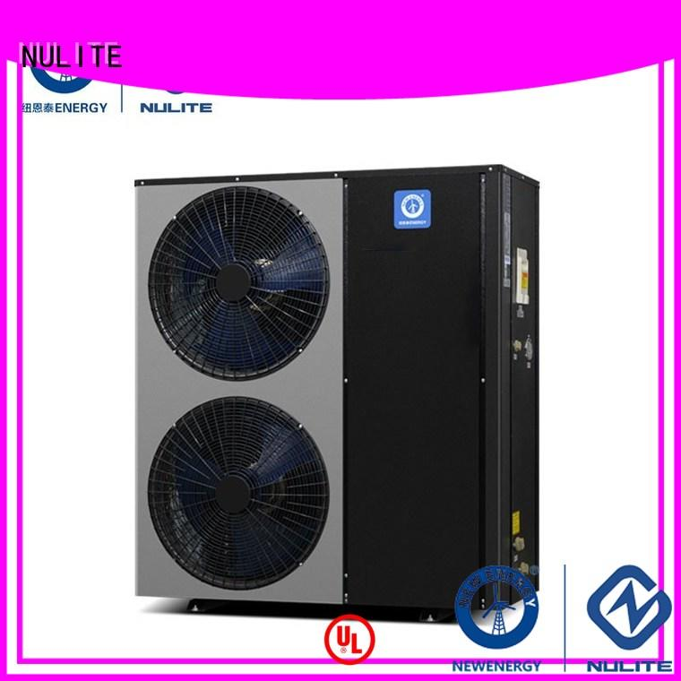 block split evi OEM low temperature heat pump NULITE