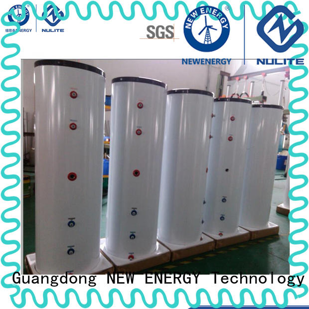 heat pump small pressure tank low cost for radiators NULITE