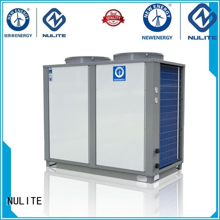 Hot 38kw domestic hot water heat pump commercial 11kw NULITE Brand