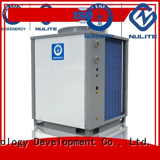 hotel air commercial heat pump water heater 11kw NULITE company