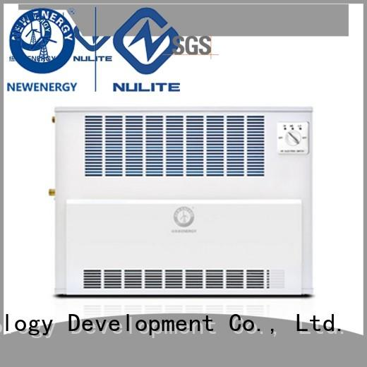 NULITE floor standing fan coil unit system for family
