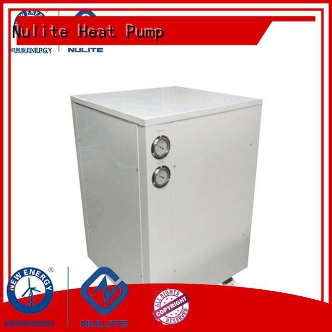8kw heating NULITE Brand geothermal ground source heat pump