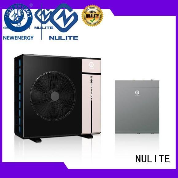 split 10kw dc inverter heat pump 20kw NULITE company