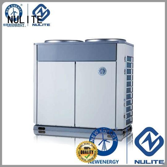 hospital 40kw 65kw NULITE Brand heat pump chiller supplier