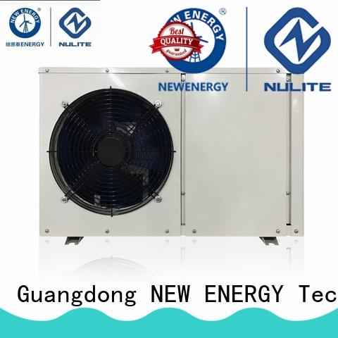 NULITE internal rotor motor heat pump heating cost-efficient for office