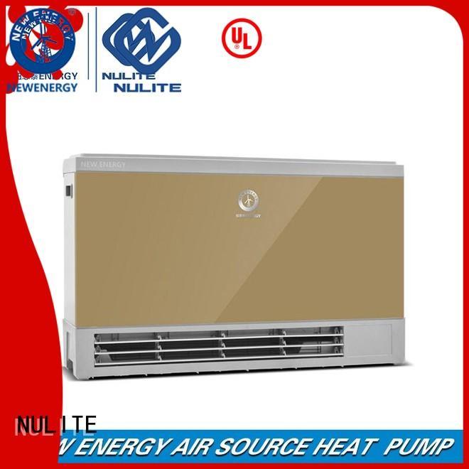 NULITE Brand energy fan coil heating heating factory