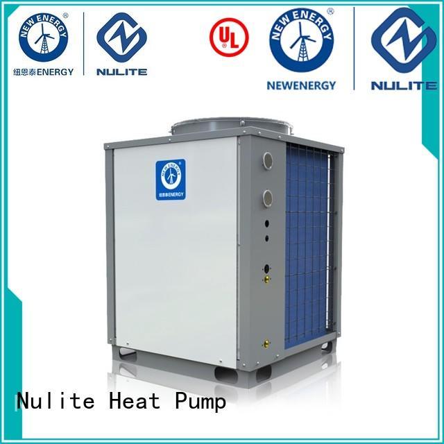 NULITE Brand air heat custom commercial heat pump water heater
