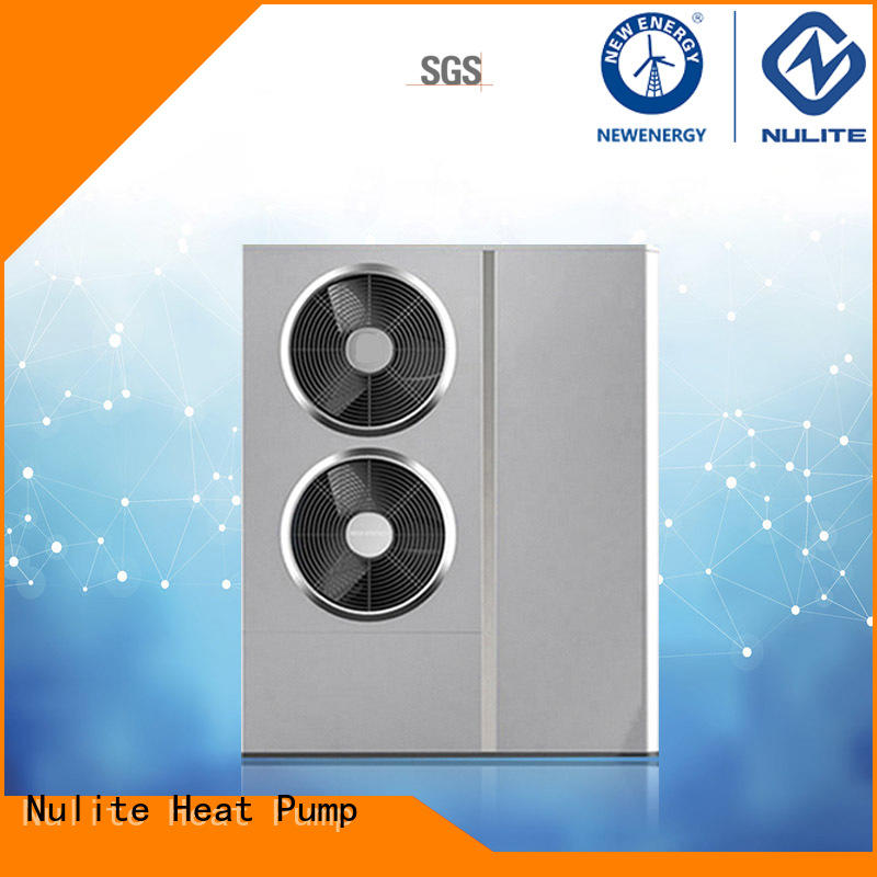 NULITE floor-standing heat pumps for home fast installation for family