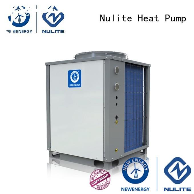 NULITE Brand model water air domestic hot water heat pump manufacture