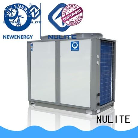 NULITE fast installation heat pump cooling system at discount for floor heating
