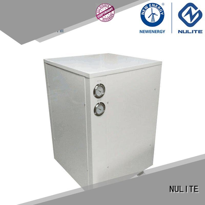 energy-saving geothermal heat pump cost pollution -free for room NULITE